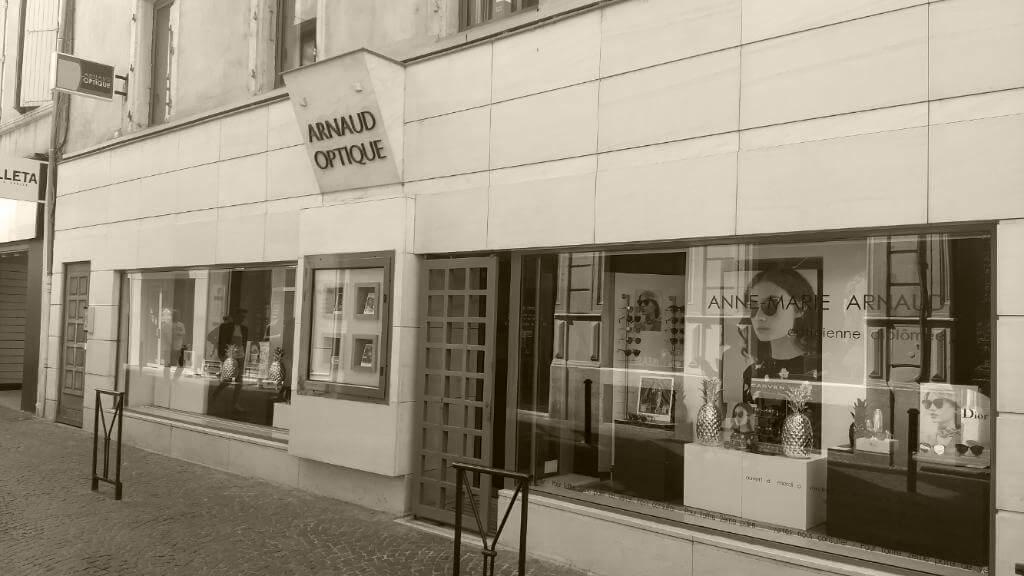 Le magasin Arnaud Optique à Montélimar
